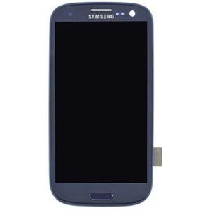 Samsung Galaxy S3 LCD Digitizer Combo Replacement With Assembly Blue VZW