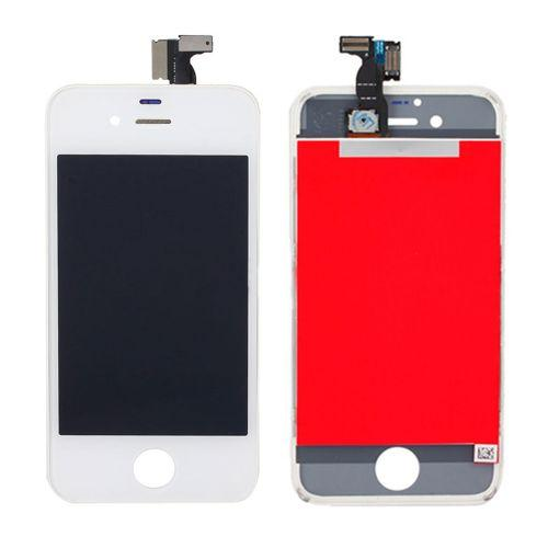 Apple iPhone 4 GSM Digitizer/LCD Replacement Combo - White